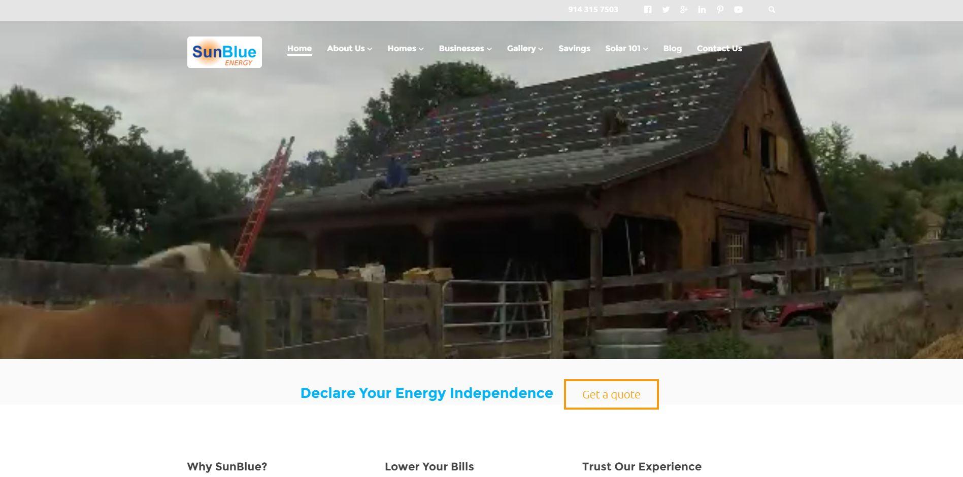 SunbBlue Energy