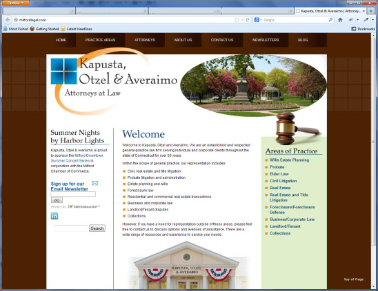 Kapusta, Otzel & Averaimo website