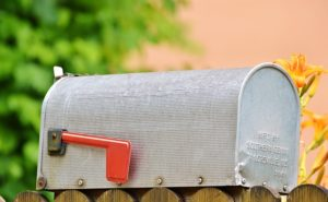Mailbox for direct mail