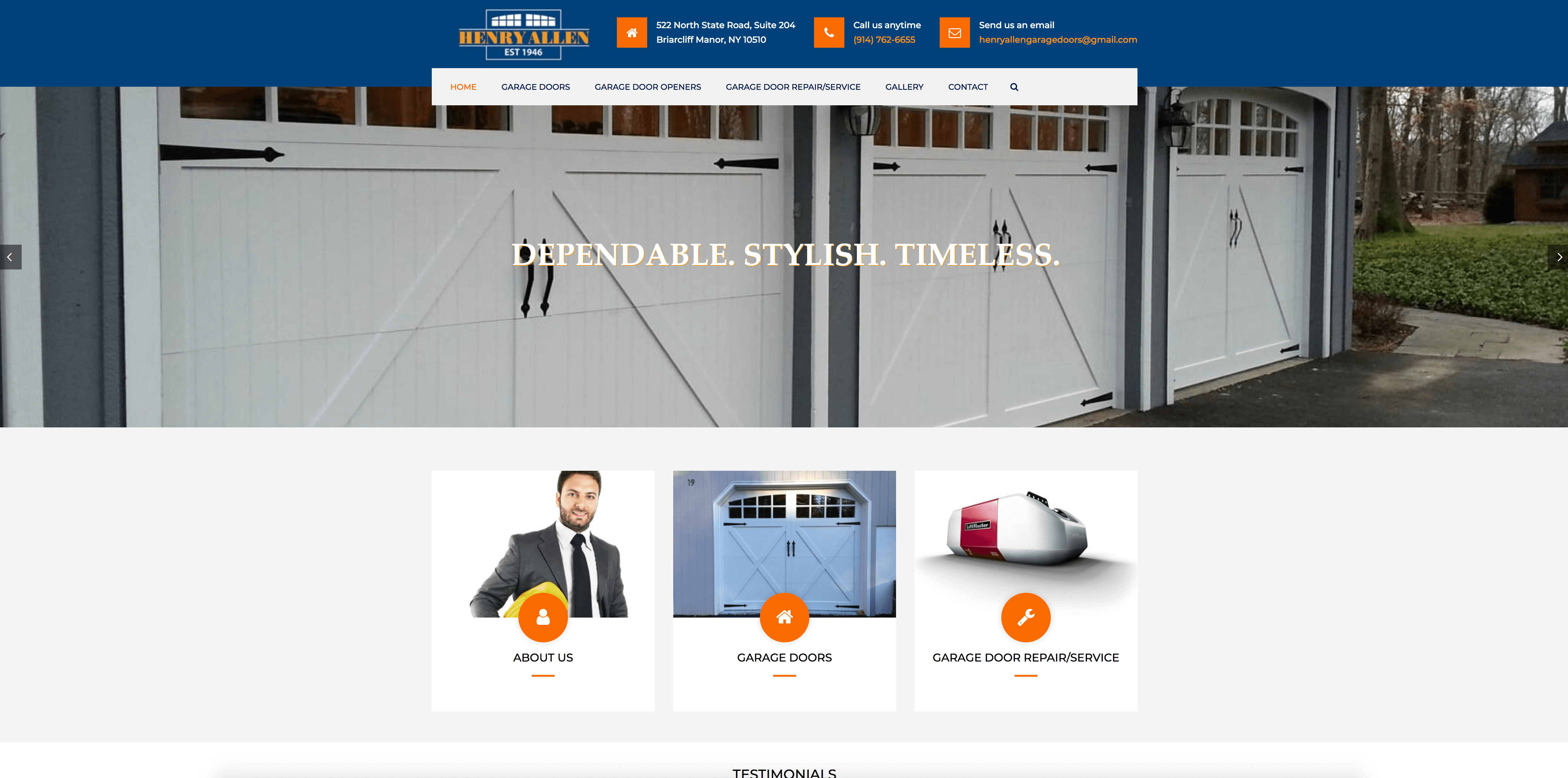 Henry Allen Garage Doors Solutions For Growth Email Marketing