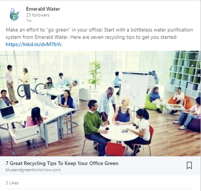Emerald Water - LinkedIn